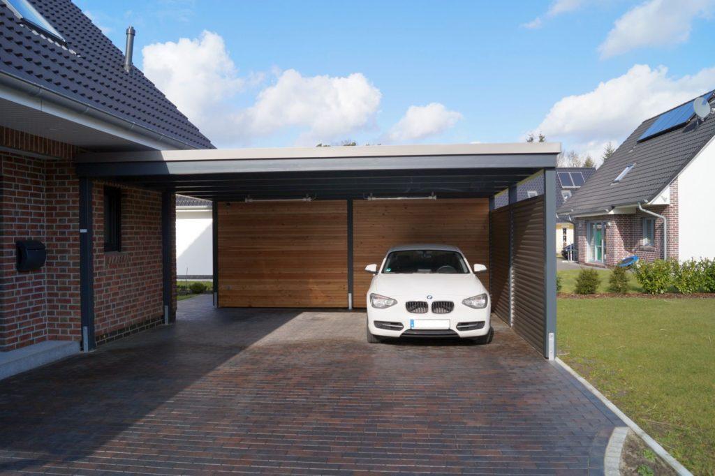 Fabulous Unsere Carportvielfalt im modernen Design - Carporthaus XA55