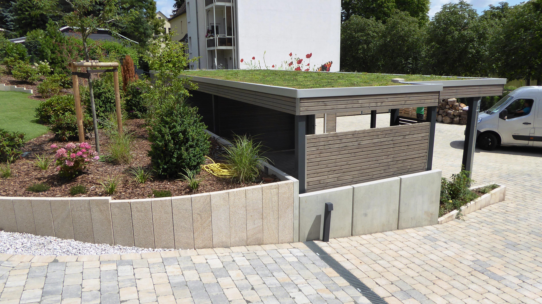 Berühmt Dacheindeckung und Gründach - Carporthaus &IX_95
